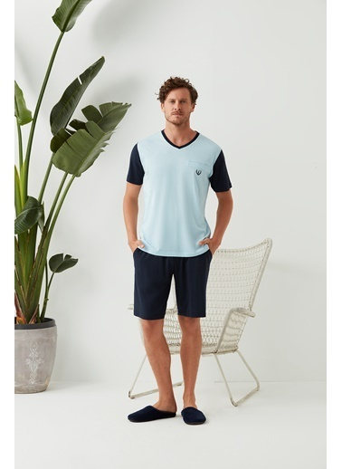 Dagi Pijama Takım Mavi